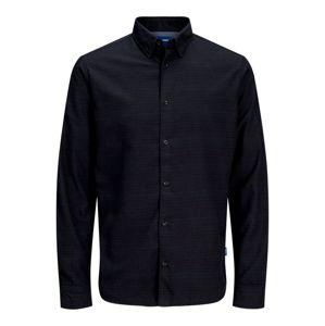 JACK & JONES Košile  kobaltová modř / noční modrá