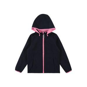 NAME IT Přechodná bunda 'MALTA'  safírová / růžová