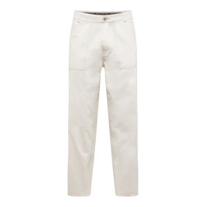 Review Kalhoty 'WORKER PANTS'  offwhite