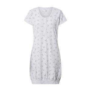 ESOTIQ Noční košilka 'BIRDY'  světle šedá