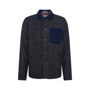 anerkjendt Přechodný kabát  tmavě šedá / modrá