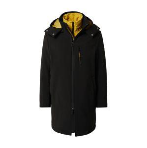 ARMANI EXCHANGE Přechodný kabát  žlutá / černá