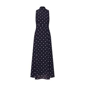 IVY & OAK Šaty 'American Shoulder'  noční modrá / bílá