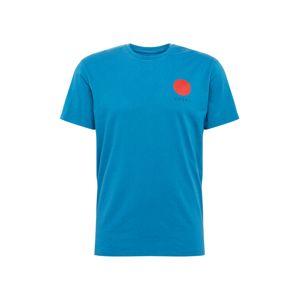 EDWIN Tričko 'Japanese Sun'  modrá