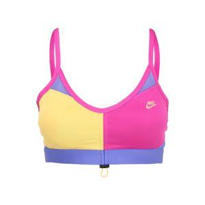 Nike Sportswear Podprsenka 'INDY ICN CLASH'  pink / hořčicová / fialová