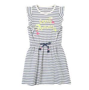 STACCATO Šaty  žlutá / pink / bílá