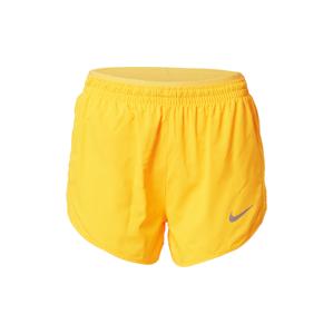 NIKE Sportovní kalhoty  zlatá / oranžová