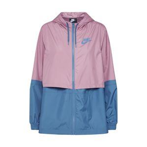 Nike Sportswear Přechodná bunda  modrá / fialová