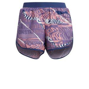 ADIDAS PERFORMANCE Sportovní kalhoty  modrá / tmavě fialová