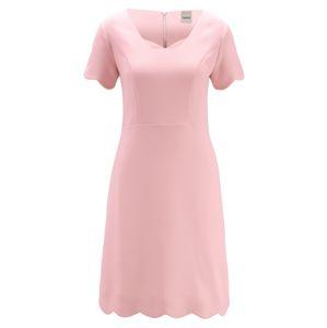 Heine Pouzdrové šaty  růžová