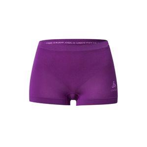 ODLO Sportovní kalhoty 'SUW'  tmavě fialová