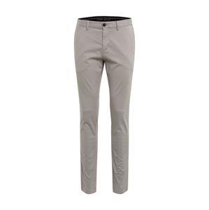 TOMMY HILFIGER Chino kalhoty 'BLEECKER TH FLEX SATIN CHINO GMD'  stříbrně šedá
