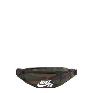 Nike Sportswear Ledvinka  khaki / černá