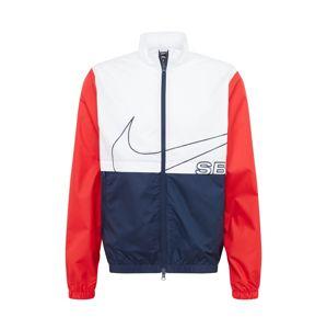 Nike SB Přechodná bunda 'Nike SB'  červená / námořnická modř / bílá