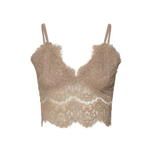 Missguided Top 'CORDED LACE CAMI'  khaki