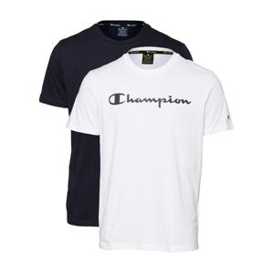 Champion Authentic Athletic Apparel Tričko  bílá / noční modrá