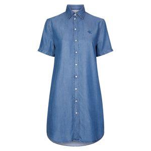 Calvin Klein Jeans Košilové šaty  modrá