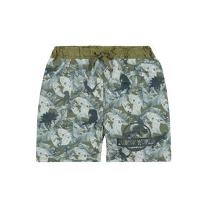 NAME IT Plavecké šortky 'Jurassic World'  khaki / mix barev