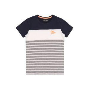 Cars Jeans Tričko  bílá / námořnická modř
