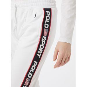 POLO RALPH LAUREN Kalhoty  bílá