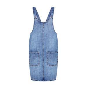 VERO MODA Laclová sukně 'Kali Pinafort'  modrá džínovina