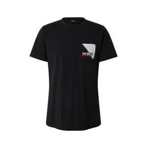 DIESEL Tričko 'DIEGO'  černá