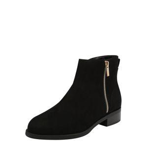 ABOUT YOU Kotníkové boty 'Mieke'  černá