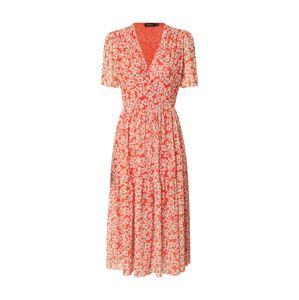 SOAKED IN LUXURY Letní šaty 'Slaidora'  bílá / červená
