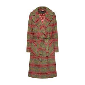 King Louie Přechodný kabát 'Barclay Coat Mississsippi'  olivová / oranžově červená