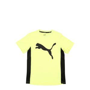 PUMA Funkční tričko  žlutá / černá