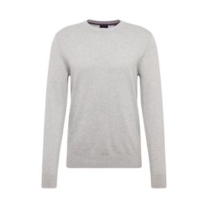 BURTON MENSWEAR LONDON Svetr 'core crew light grey'  šedá