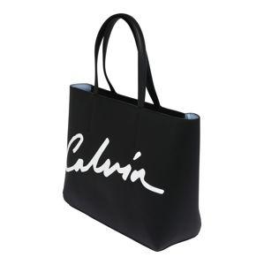 Calvin Klein Jeans Nákupní taška 'SCULPTED'  černá