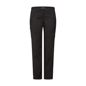 NA-KD Kalhoty 'Button Side Pants'  černá