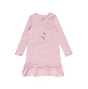 SANETTA Noční košilka  šedá / světle růžová / pink