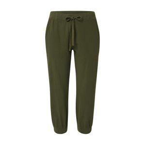 Kaffe Kalhoty 'Naya Capri'  olivová / tmavě zelená