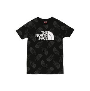 THE NORTH FACE Tričko  černá