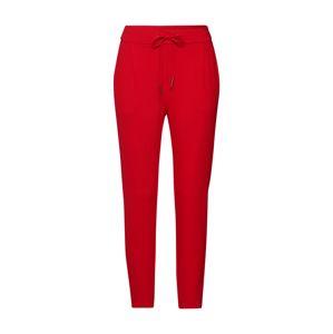 VERO MODA Kalhoty  červená