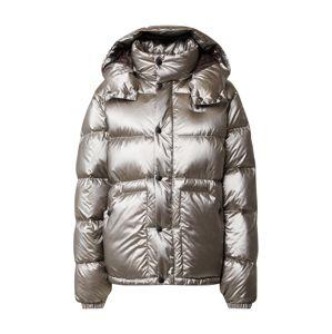 Blauer.USA Zimní bunda  stříbrně šedá