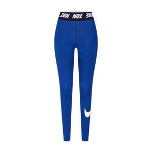 Nike Sportswear Legíny  námořnická modř / černá / bílá