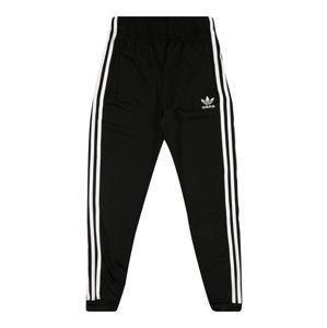 ADIDAS ORIGINALS Kalhoty  černá / bílá