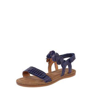 BISGAARD Sandály 'cille'  indigo