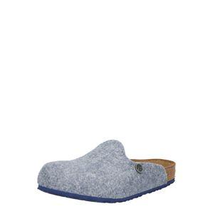 BIRKENSTOCK Pantofle  chladná modrá