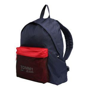 Tommy Jeans Batoh 'TJM COOL CITY'  červená / bílá / modrá