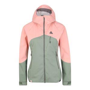 Maloja Outdoorová bunda 'Emerita'  pink / světle zelená