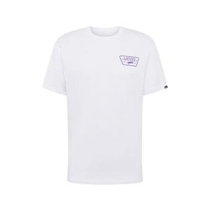 VANS Tričko  fialová / bílá