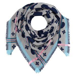 CODELLO Látková rouška 'PEANUTS'  šedá / pastelově růžová / světlemodrá / námořnická modř