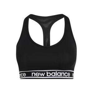New Balance Sportovní podprsenka 'PACE BRA 2.0'  bílá / černá