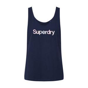 Superdry Top  námořnická modř