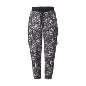 NU-IN Kalhoty  bílá / černá