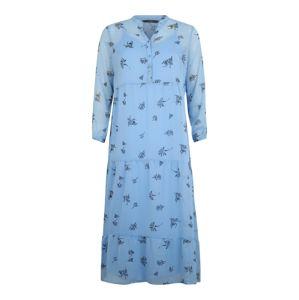 Vero Moda Curve Košilové šaty 'VMLILA'  světlemodrá
